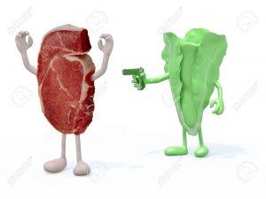 carnivore vs vegan