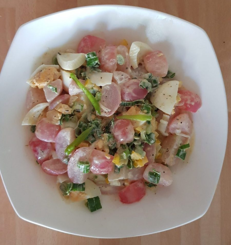 Radish Salad with a twist!