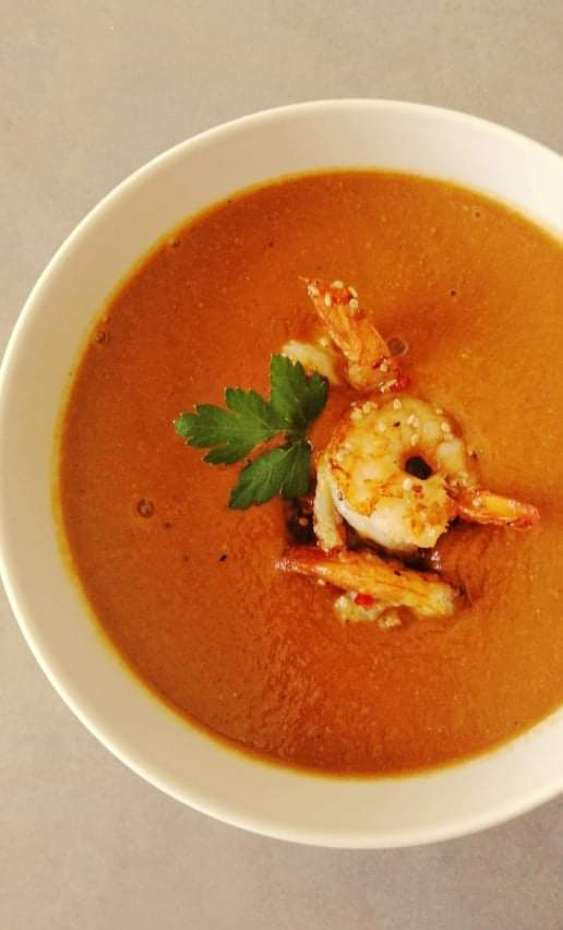 Bisque with Shrimps