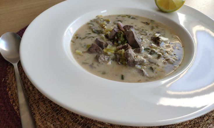 Greek Magiritsa soup