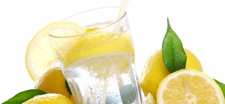 Drink Lemon and salt with your water to avoid keto flu